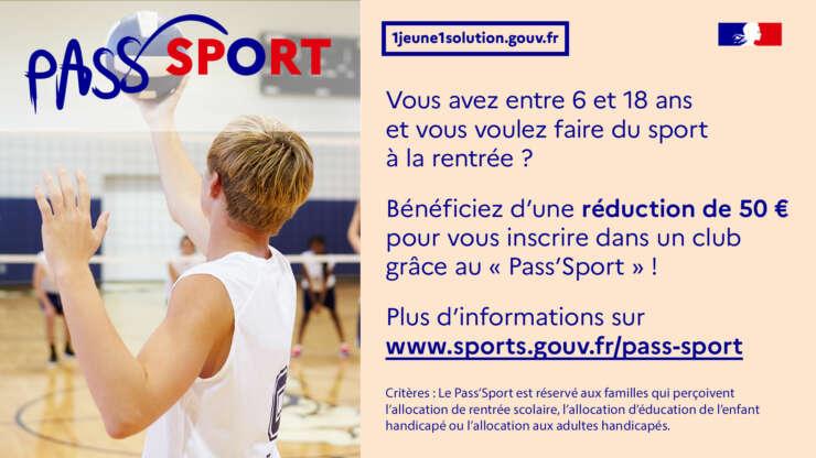 Le Pass'Sport au SKJ